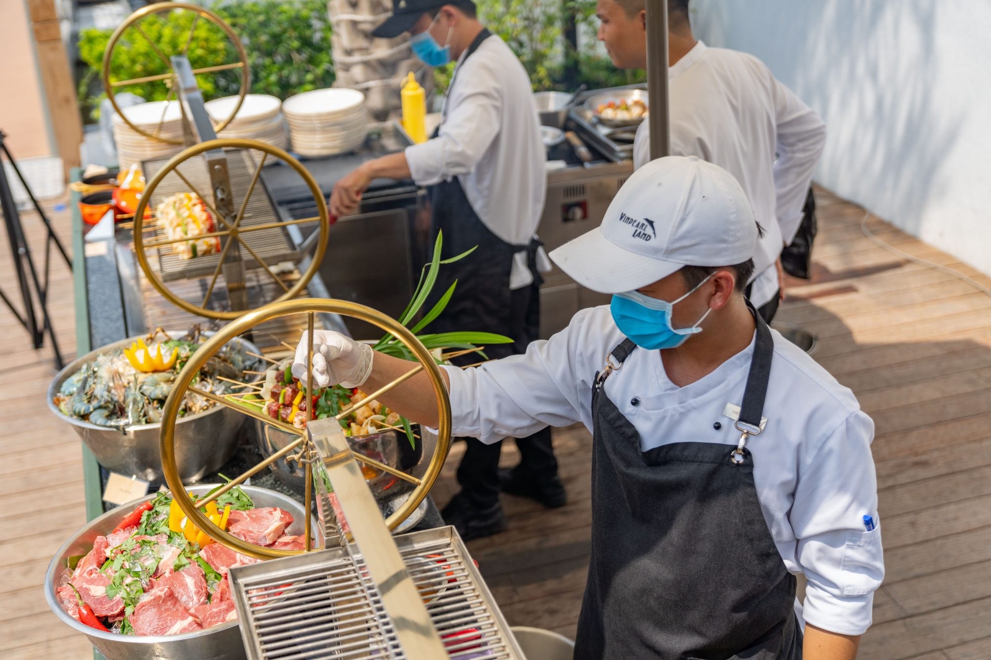 Sunday Brunch at Kitchen By the River restaurant