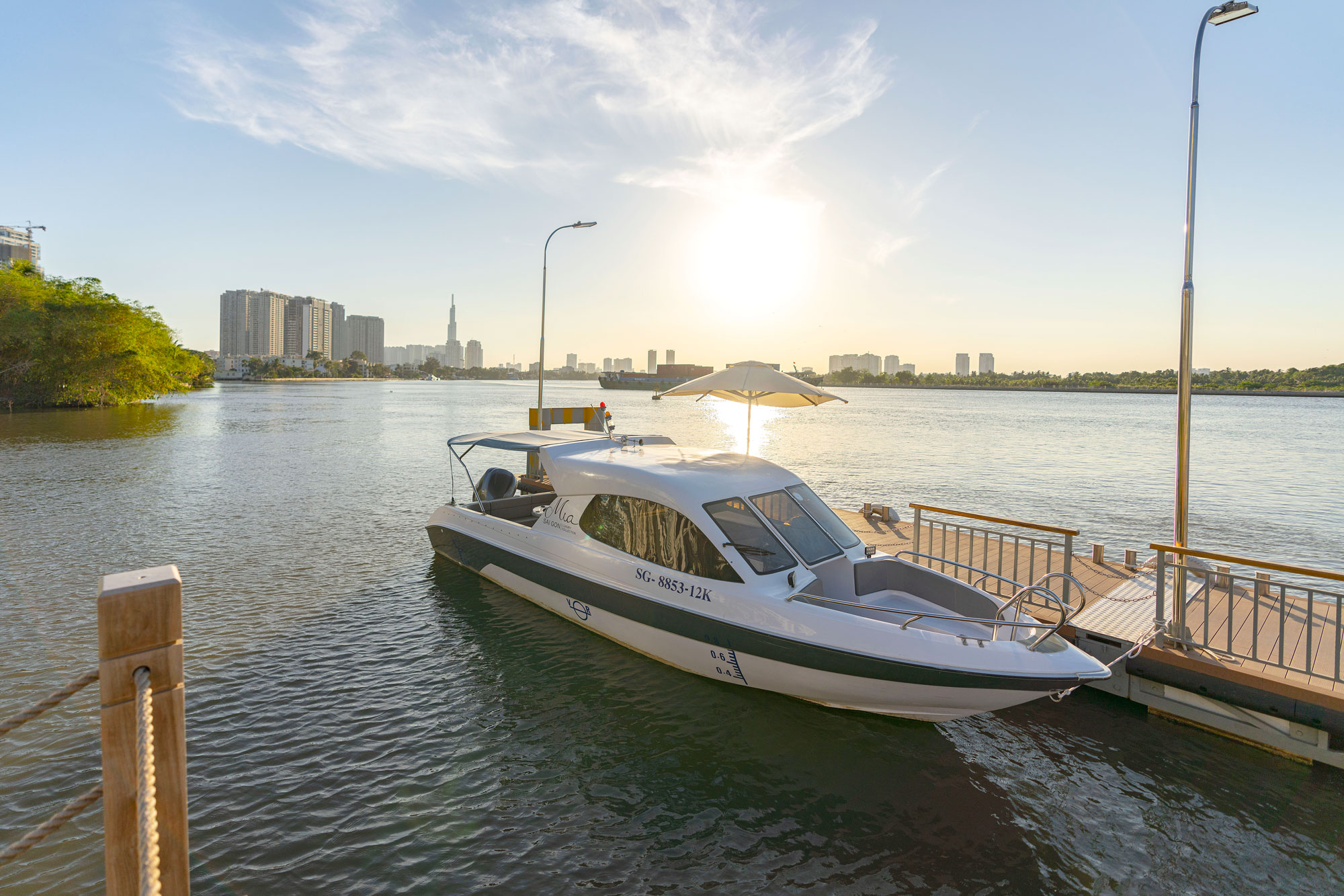 Complimentary Shuttle Boat For In-house Guests